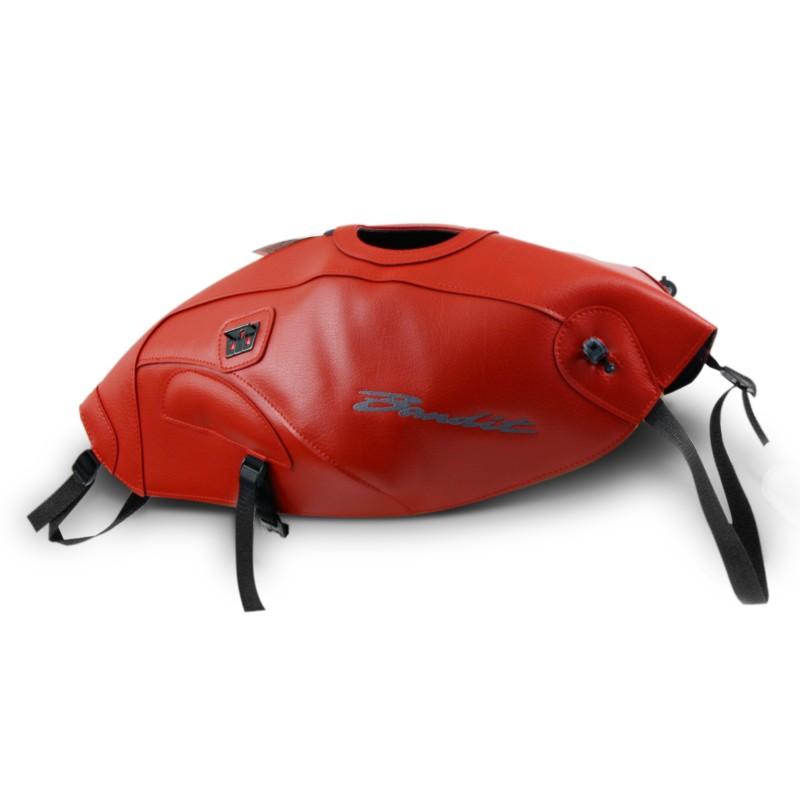 tank protector bagster suzuki bandit 650 650 s 05 06 red. Black Bedroom Furniture Sets. Home Design Ideas
