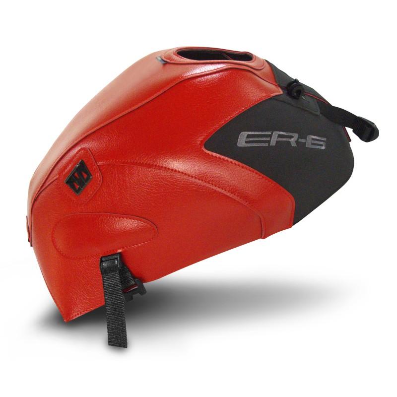 Copri Serbatoio Bagster Kawasaki ER-6 N 2013 rosso/nero opaco