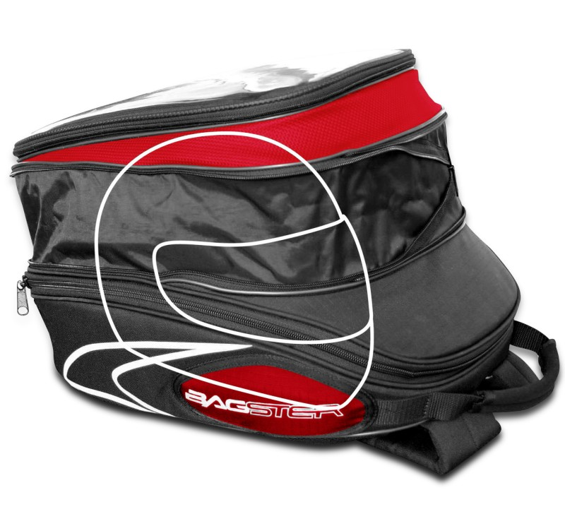 tank bag yamaha mt 07 bagster evosign easy road red ebay. Black Bedroom Furniture Sets. Home Design Ideas
