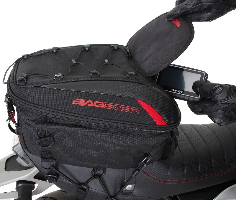 Motorcycle Tail Seat Bag Bagster Spider Ducati Monster ...