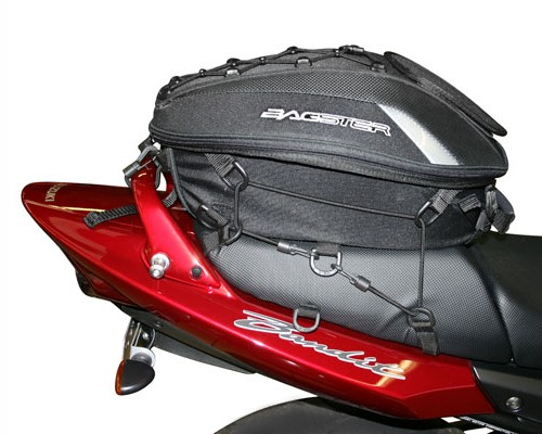 motorrad hecktasche bagster spider 15 23 l schwarz. Black Bedroom Furniture Sets. Home Design Ideas