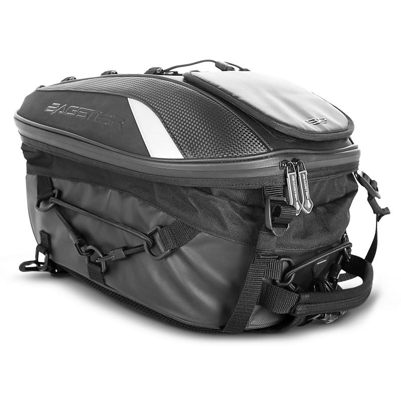 sacoche de selle moto bagster spider noir cagiva raptor 650. Black Bedroom Furniture Sets. Home Design Ideas