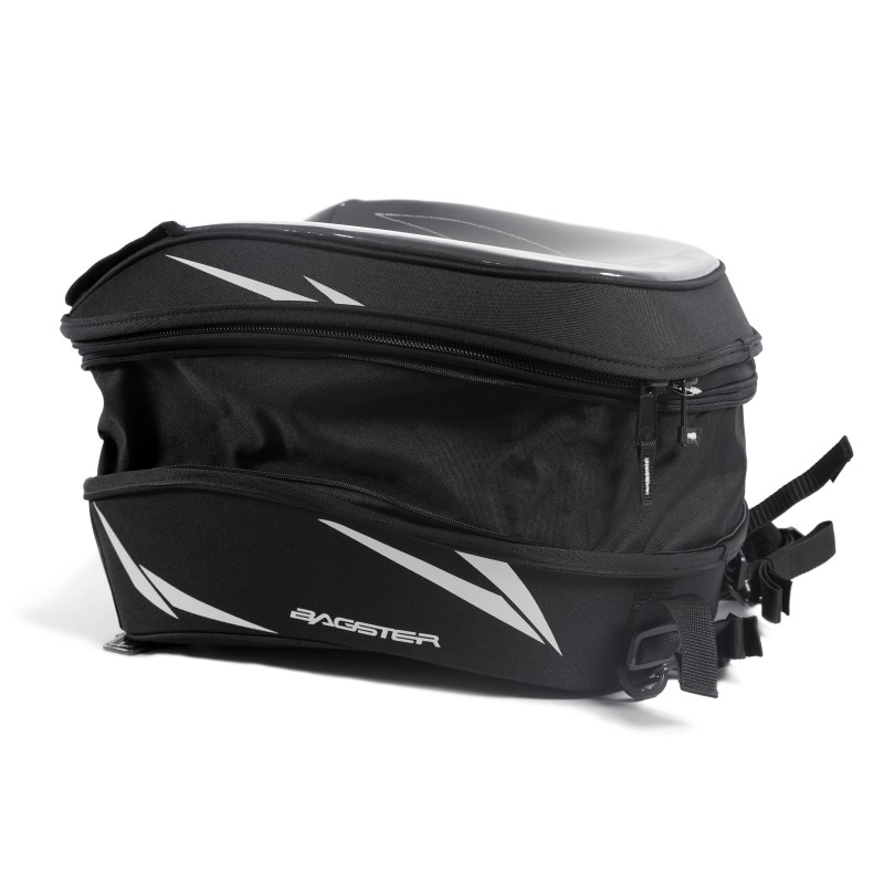 tank bag suzuki v strom 650 bagster impact easy road ebay. Black Bedroom Furniture Sets. Home Design Ideas