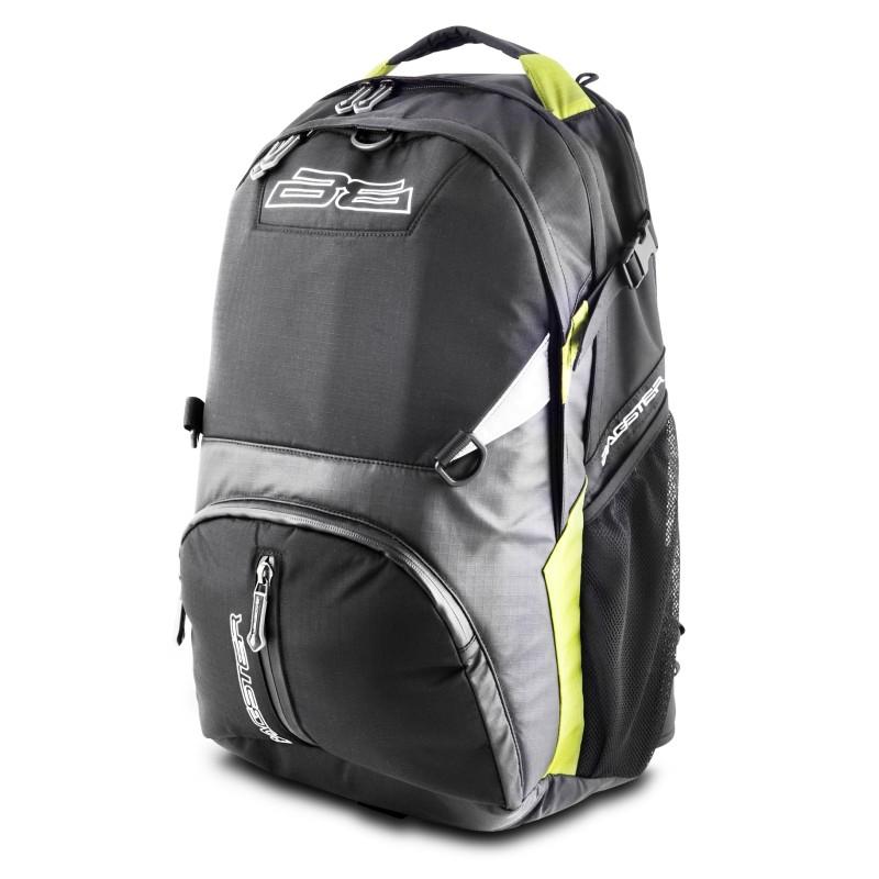 sac dos moto bagster trek 35 l noir vert. Black Bedroom Furniture Sets. Home Design Ideas