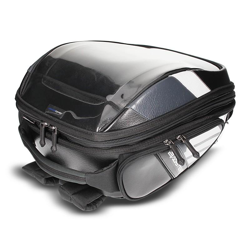 Expandable Tank Bag Bagster Stunt PVC 5849N 21-32 liters black