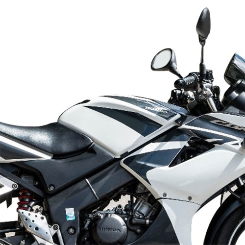 Honda cbr 125 black and white dresses