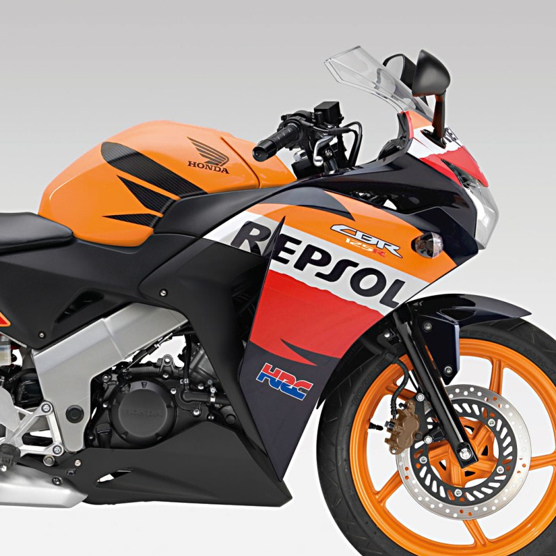 tank protector cover bagster honda cbr 125 r 12 13 repsol. Black Bedroom Furniture Sets. Home Design Ideas
