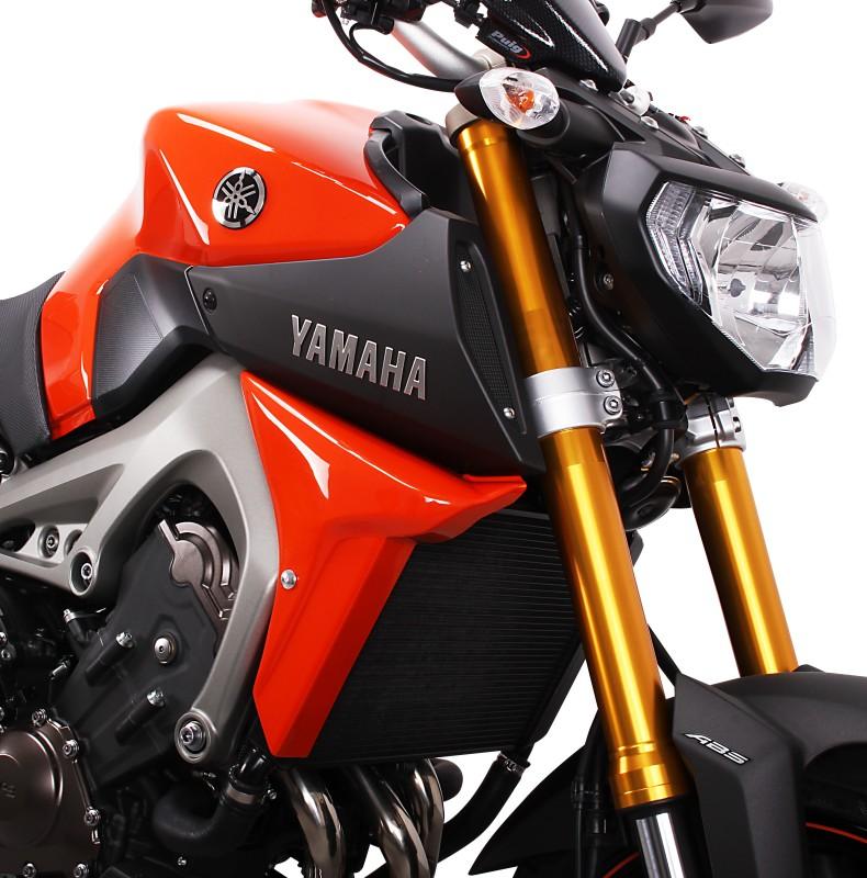 Kühlerseitenverkleidung Bodystyle Yamaha MT-09 14-15 orange