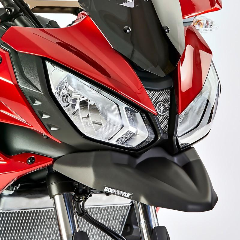 Schnabelverbreiterung Yamaha MT-07 Tracer 16-18 Bodystyle schwarz matt