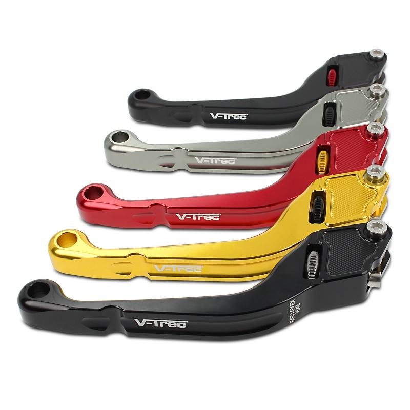 v trec vx custom brake clutch lever set short long for. Black Bedroom Furniture Sets. Home Design Ideas