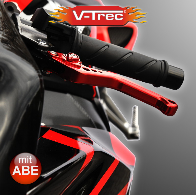 v trec abe zub f r honda cbr 1000 rr fireblade 04 07 brems hebel kpl kurz lang ebay. Black Bedroom Furniture Sets. Home Design Ideas