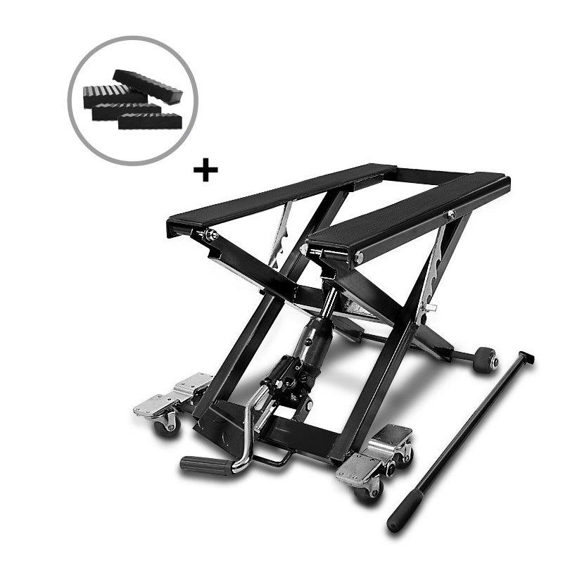 motorrad hebeb hne scherenheber hydraulik lift constands. Black Bedroom Furniture Sets. Home Design Ideas