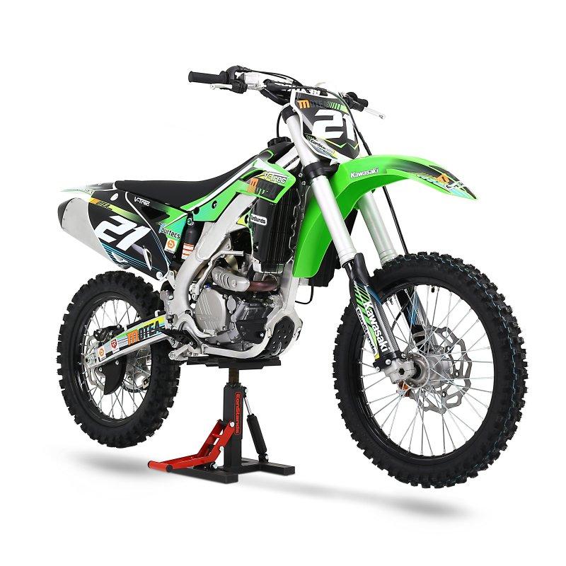 moto cross pro soporte yamaha yz 85 125 250 450 f hubst nder elevador lift ebay. Black Bedroom Furniture Sets. Home Design Ideas