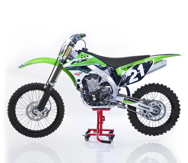 Constands mx cavalletto alza moto sposta per motocross for Cavalletto sposta moto