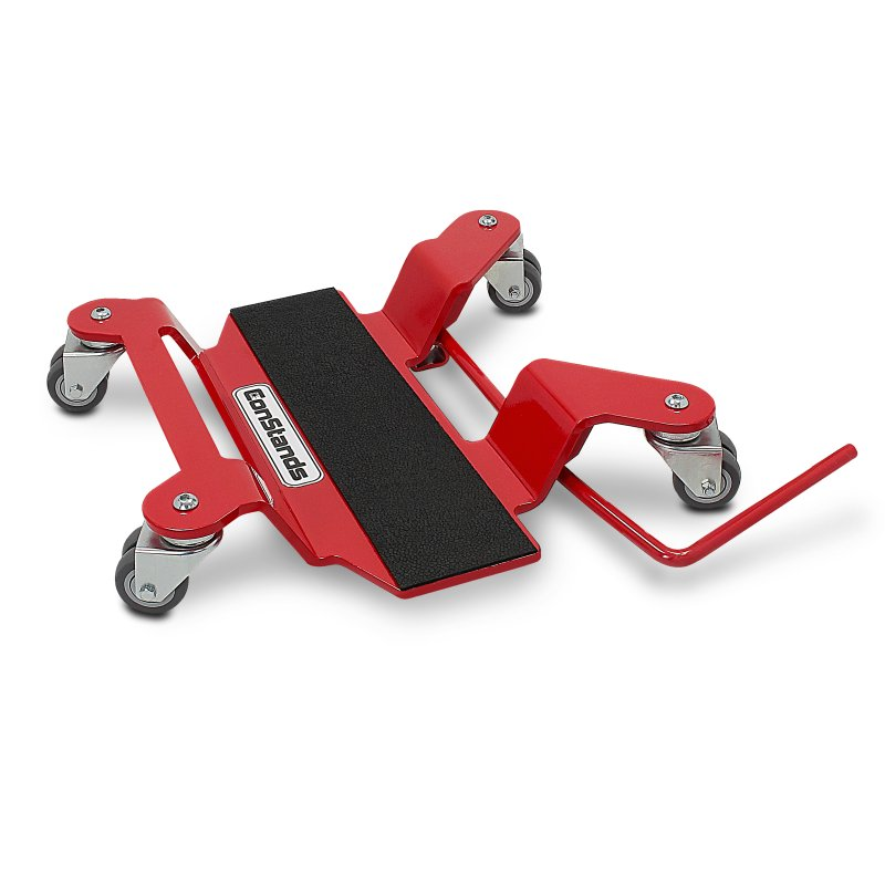 Motorcycle Centre Stand Mover Dolly Constands Red
