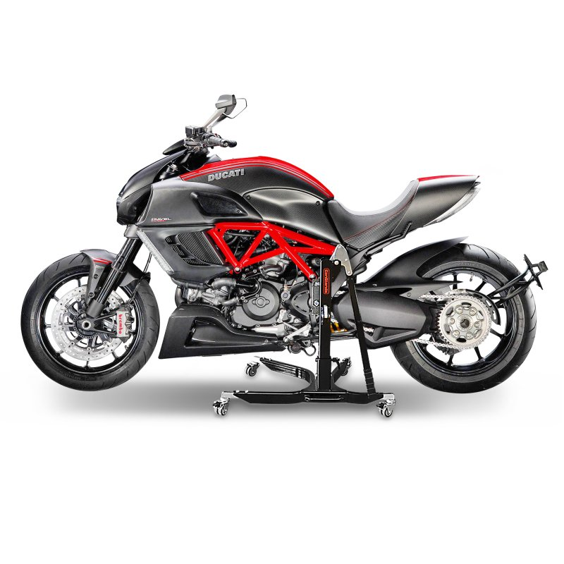 bequille d 39 atelier moto centrale constands power ducati diavel 11 18 ebay. Black Bedroom Furniture Sets. Home Design Ideas