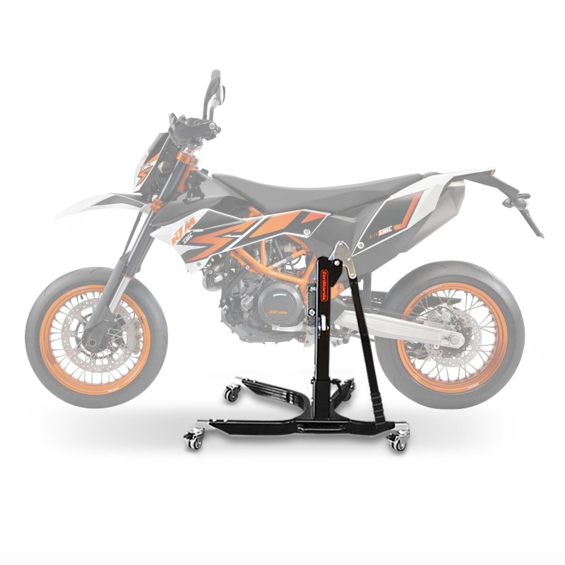 Motorrad Zentralstander ConStands Power KTM 690 SMC R 08 16 Adapter Rollen Inkl