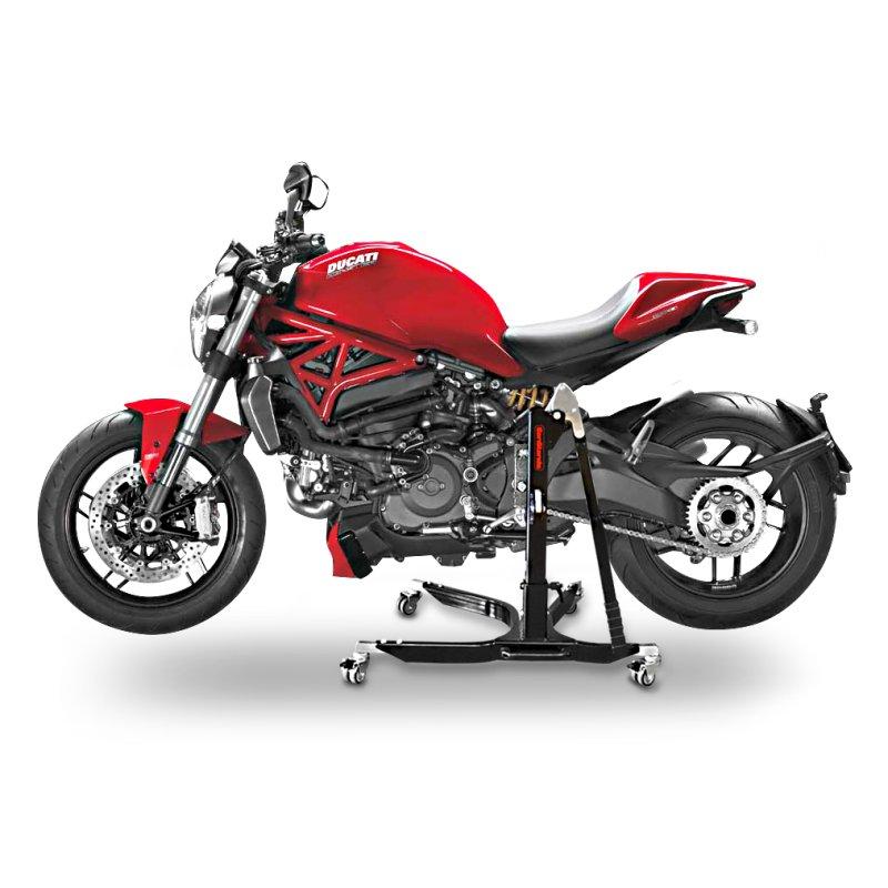 motorrad lift constands power ducati monster 1200 r 2016 zentrallift ebay. Black Bedroom Furniture Sets. Home Design Ideas