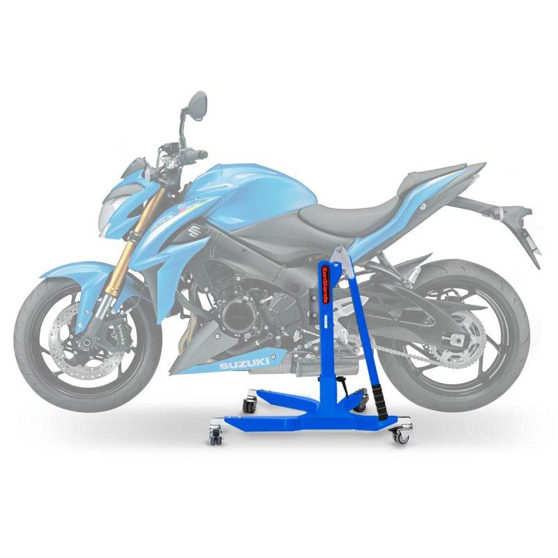 bequille d 39 atelier moto centrale constands power suzuki gsx s 1000 15 17 adapteur roulettes. Black Bedroom Furniture Sets. Home Design Ideas