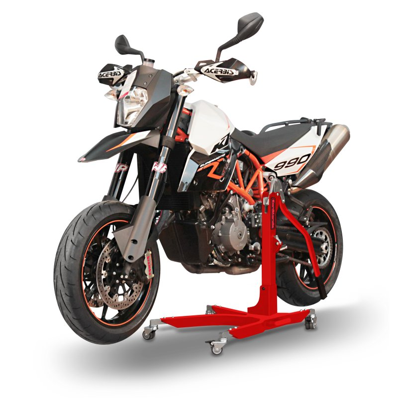 paddock stand rb ktm 990 supermoto sm r 08 13 front rear. Black Bedroom Furniture Sets. Home Design Ideas