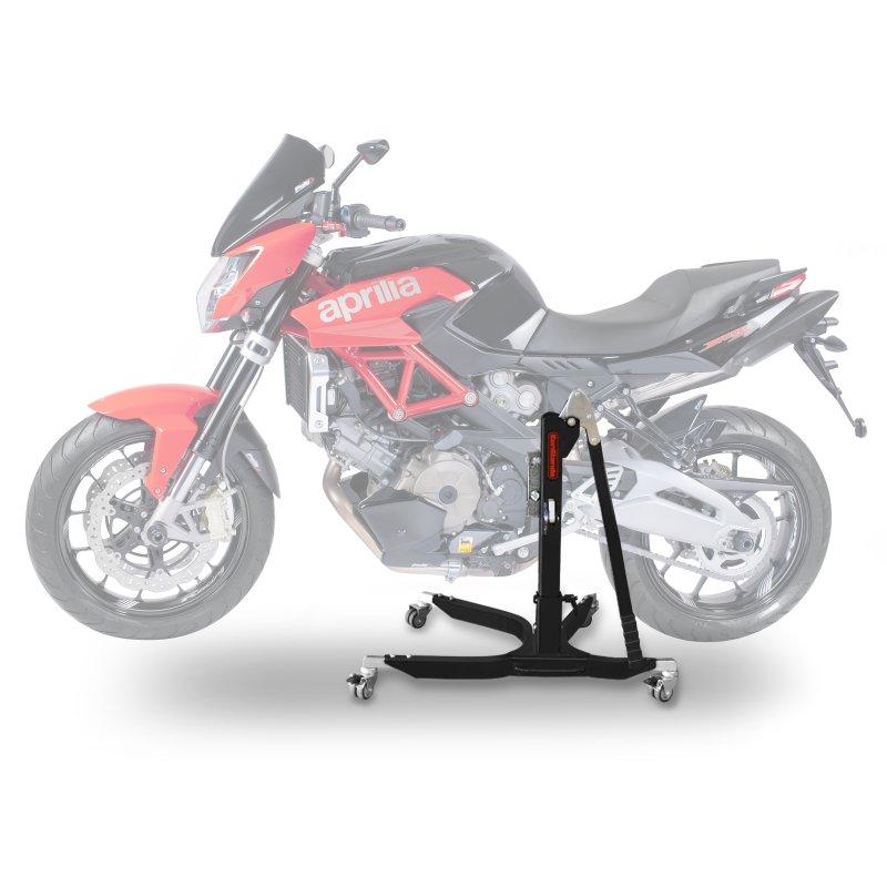 bequille d 39 atelier moto centrale constands power aprilia shiver 750 gt 07 16 adapteur. Black Bedroom Furniture Sets. Home Design Ideas