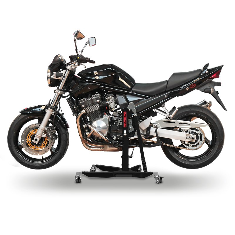 bequille moto centrale constands power bm suzuki bandit 600 s 01 04 ebay. Black Bedroom Furniture Sets. Home Design Ideas