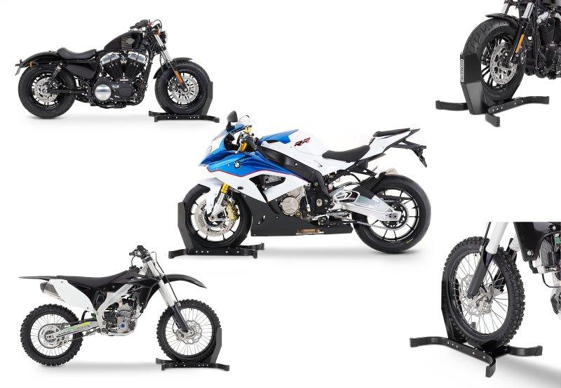 motorrad wippe vorn f r harley davidson motorradst nder. Black Bedroom Furniture Sets. Home Design Ideas