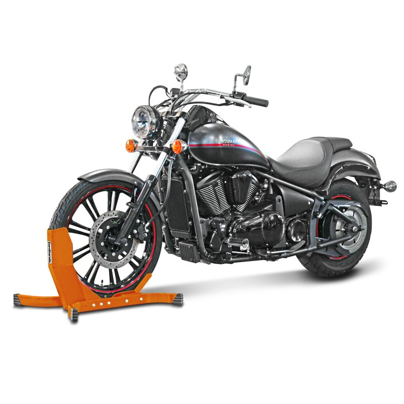 bloque roue moto avant cpo pour harley davidson softail breakout fxsb bequille ebay. Black Bedroom Furniture Sets. Home Design Ideas