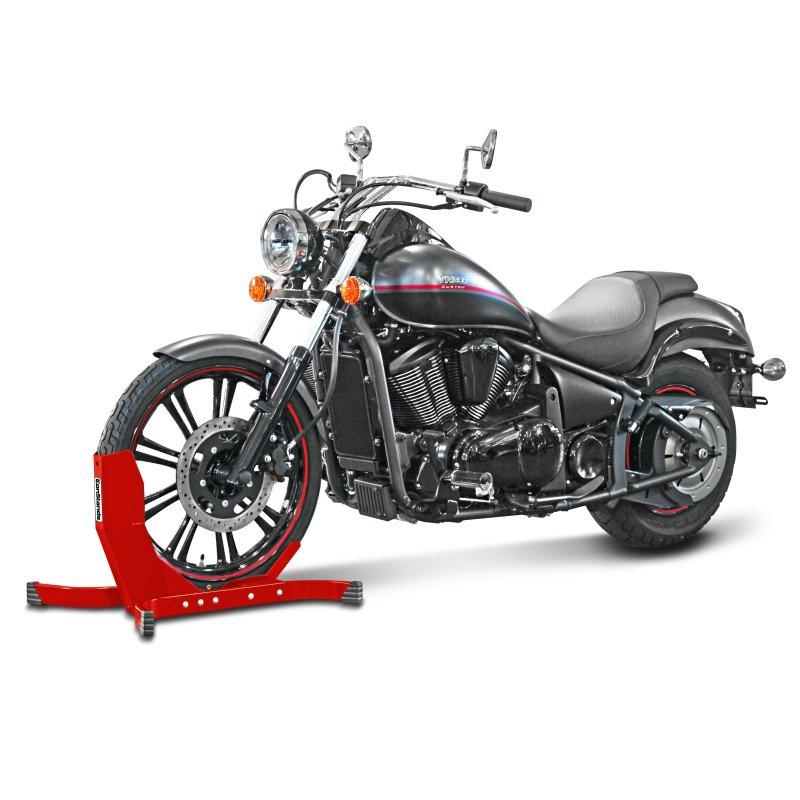motorrad frontst nder radwippe radhalter radklemme vorne. Black Bedroom Furniture Sets. Home Design Ideas