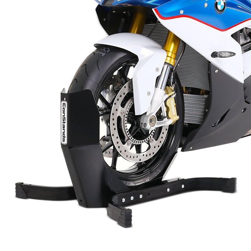 bloque roue moto avant cbm pour harley sportster 883 hugger xlh 883 bequille ebay. Black Bedroom Furniture Sets. Home Design Ideas