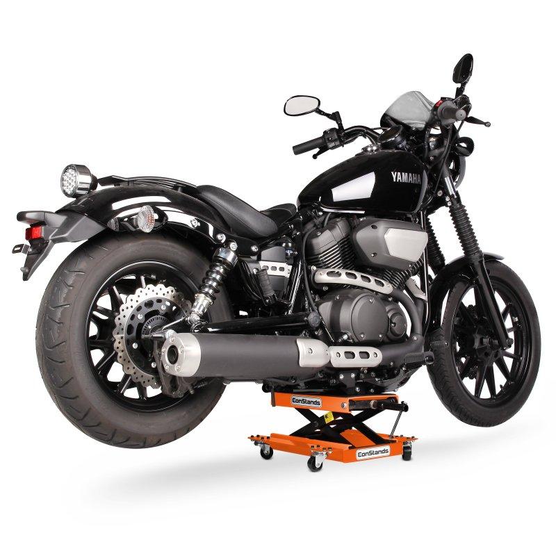 Ponte sollevatore sposta moto constands lift m arancione for Cavalletto sposta moto