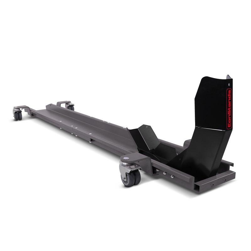 rail de range moto avec bloque roue constands smart mover max 450 kg gris. Black Bedroom Furniture Sets. Home Design Ideas