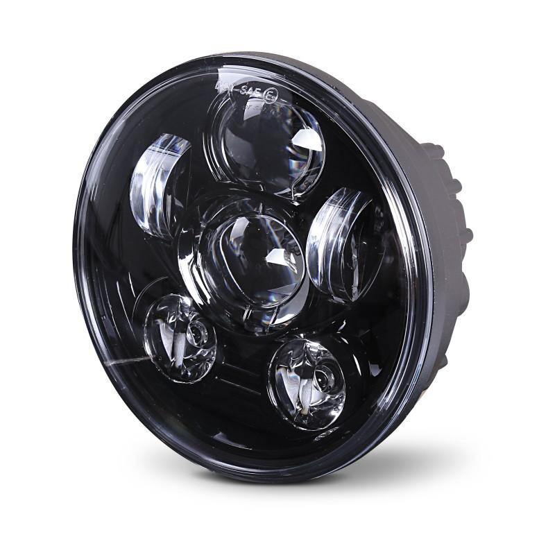 Hauptscheinwerfer Craftride LED 5,75 Zoll für Harley Davidson schwarz