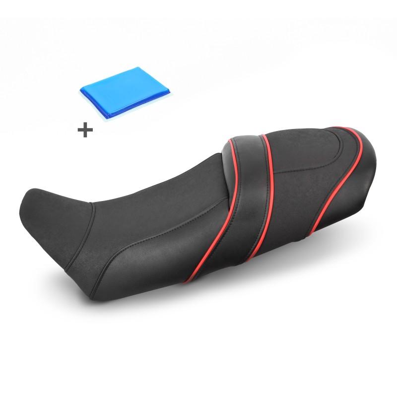 selle de moto gel confort transformation suzuki vx 800. Black Bedroom Furniture Sets. Home Design Ideas