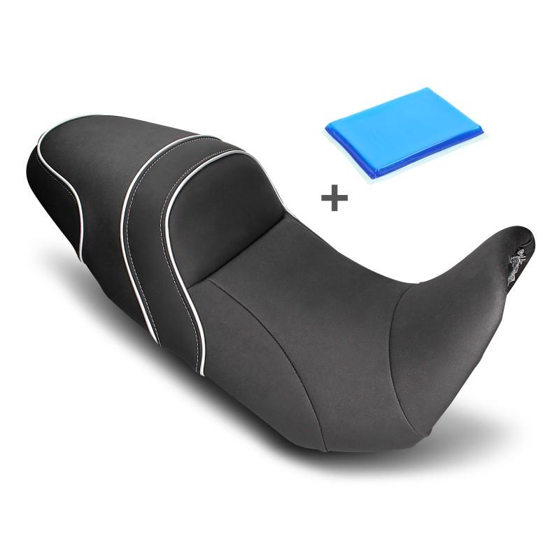 selle de moto confort gel yamaha bt 1100 bulldog. Black Bedroom Furniture Sets. Home Design Ideas