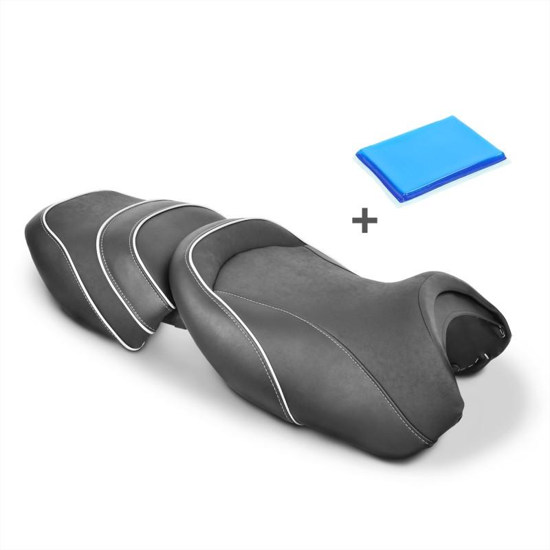 selle de moto gel confort transformation bmw r 1150 rt. Black Bedroom Furniture Sets. Home Design Ideas