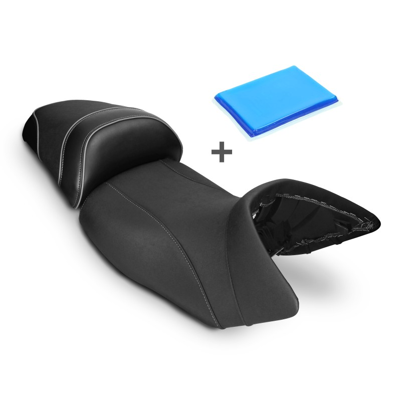 selle de moto gel confort transformation bmw r 1200 gs. Black Bedroom Furniture Sets. Home Design Ideas