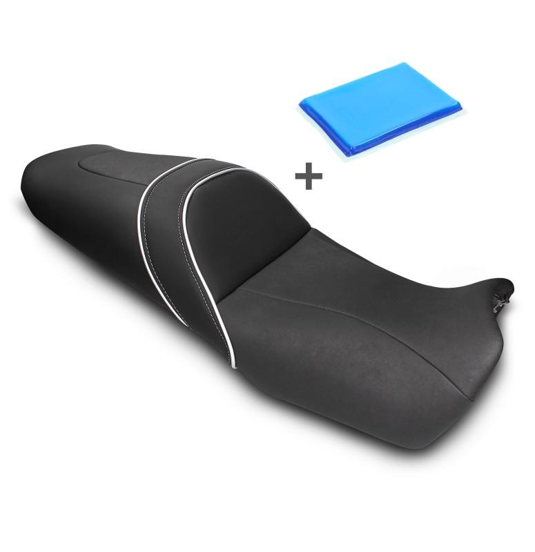 selle de moto gel confort transformation honda crosstourer. Black Bedroom Furniture Sets. Home Design Ideas