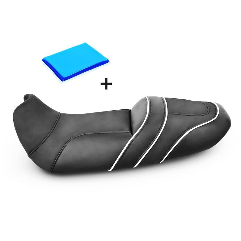 selle de moto gel confort transformation kawasaki gpz 500 s. Black Bedroom Furniture Sets. Home Design Ideas