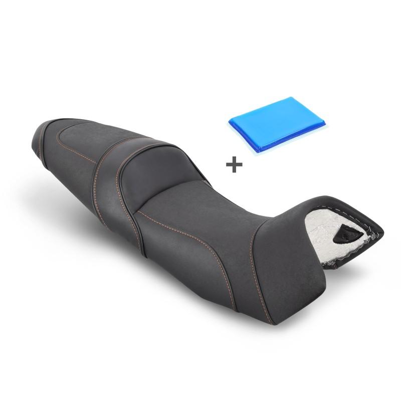 motorrad gel komfort sitzbank umbau ktm 1050 adventure ebay. Black Bedroom Furniture Sets. Home Design Ideas