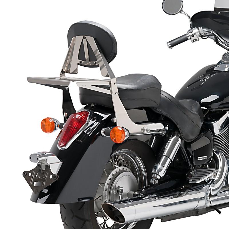 Gepäckträger Honda Shadow 750 : sissy bar gep cktr ger honda vt 750 c shadow 04 16 chrom ~ Kayakingforconservation.com Haus und Dekorationen