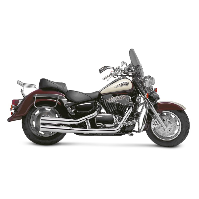 exhaust system falcon suzuki intruder vl 1500 lc 98 04. Black Bedroom Furniture Sets. Home Design Ideas