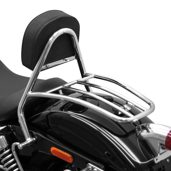 Sissy Bar Luggage Rack Fehling Harley Davidson Dyna Wide