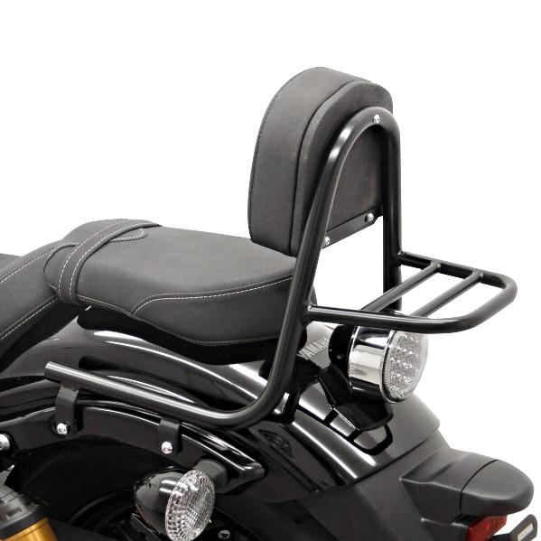 Sissy Bar+ Gepäckträger Fehling Yamaha XV 950/ R 14-18 schwarz