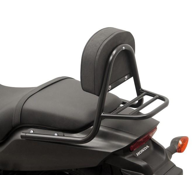 Sissy Bar+ Gepäckträger Fehling Honda CTX 700 N 14-16 schwarz