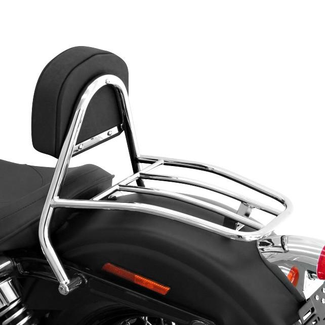 sissy bar luggage rack fehling harley davidson dyna. Black Bedroom Furniture Sets. Home Design Ideas