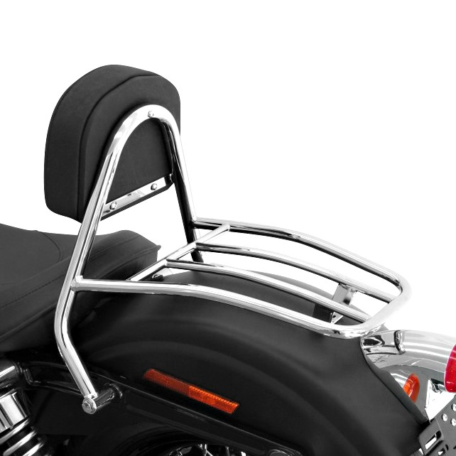 Sissy Bar + Gepäckträger Fehling Harley Davidson Dyna Street Bob (FXDB) 09-16