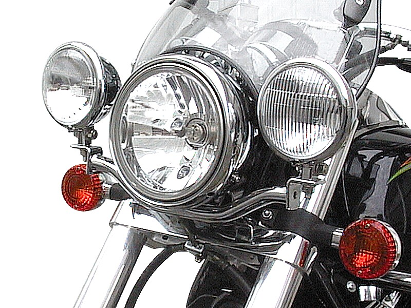 Motorcycle light bars