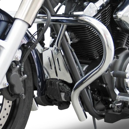 Sturz-Bügel Fehling Yamaha XVS 950A Midnight Star 09-16 silber