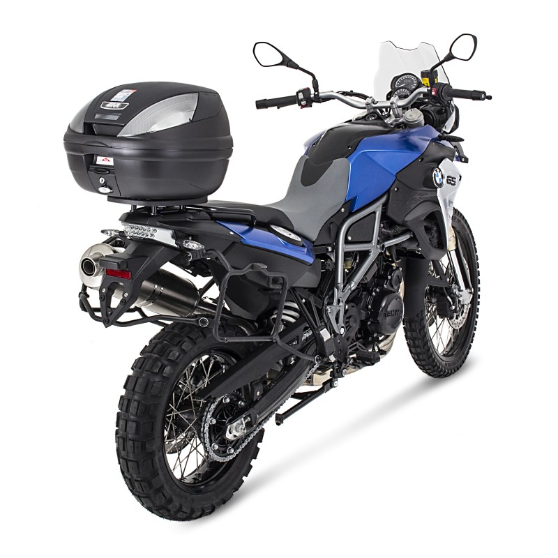 Bauletto-Top-Case-Set-Givi-Suzuki-V-Strom-1000-14-16-Monolock-E370NT-nero